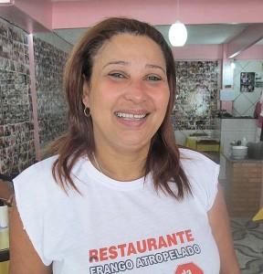 Rose do Frango Atropelado (Foto: Edimilson Soares)