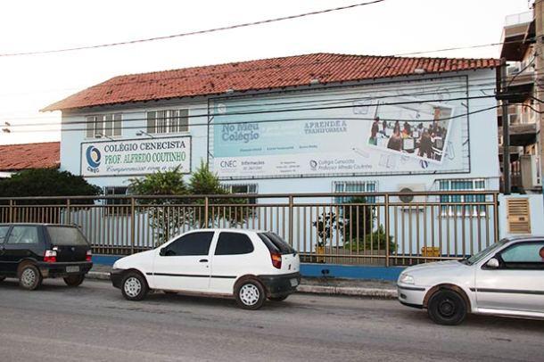 Fachada do Colégio Cenecista Professor Alfredo Coutinho (Edimilson Soares)