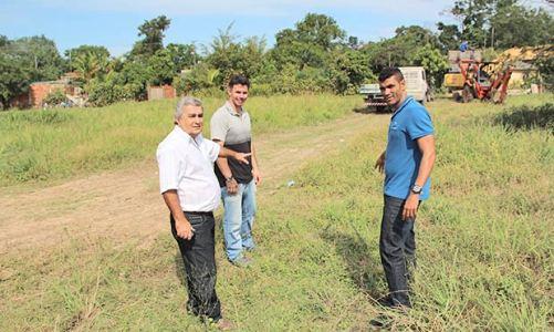 Kilinho consegue asfalto e outras melhorias para Bonsucesso