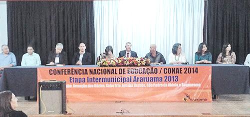 Saquarema participou da 12ª CONAE