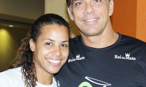 Beto Simas, o Mestre Boneco de capoeira, em Saquarema