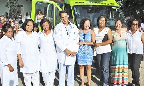 Novas ambulâncias para Saquarema