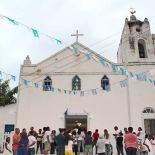 Centenária igrejinha recebeu fiéis para o tradicional festejo (Foto: Edimilson Soares)