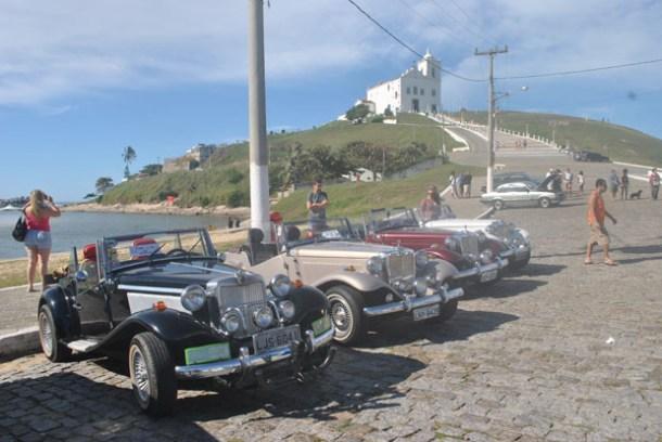 Exposição de carros antigos (Foto AGNELO QUINTELA)