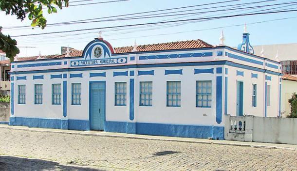 Primeira Câmara Municipal e Prefeitura, onde hoje se localiza a Casa de Cultura Walmir Ayala e a Biblioteca Municipal José Bandeira.