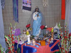 Santa Sara padroeira do povo cigano (Foto: Alessandra Calazans)