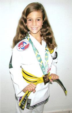 Os primeiros passos vitoriosos de Maria Luiza Bravo (Foto: divulgação)