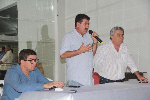 Pitico, Paulo Melo e Zequinha Martins (Foto: Edimilson Soares)