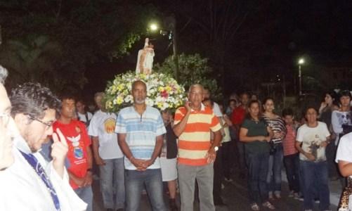 Santa Edwiges homenageada em Barra Nova