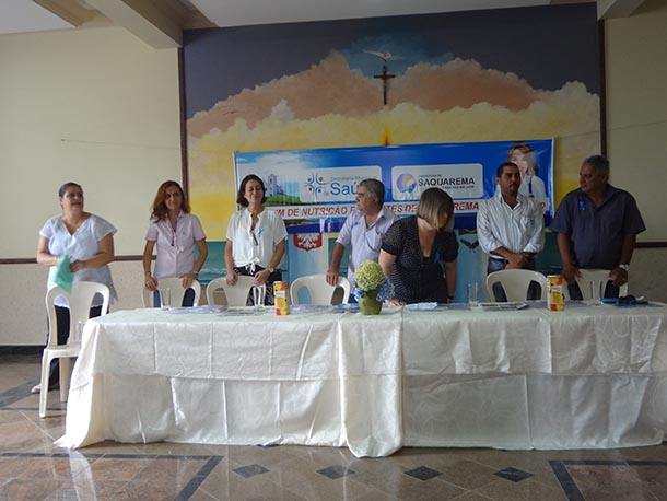 A mesa que conduziu os trabalhos do V Fórum, em Bacaxá (Foto: Edimilson Soares)