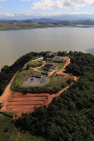 A concessionária Águas de Juturnaíba fornece serviço de água e esgoto a 3 municípios: Saquarema, Araruama e Silva Jardim (Foto: Divulgação Águas de Juturnaíba)
