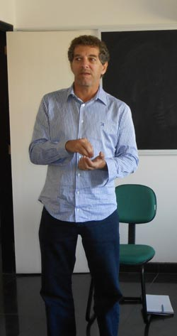 O arquiteto da DTA Engenharia, Mauro Scazufca (Foto: Dulce Tupy)