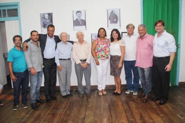 A ideia foi resgatar a história através das personalidades marcantes da vida no município ao longo do tempo, no passado e no presente (Fotos: Edimilson Soares)