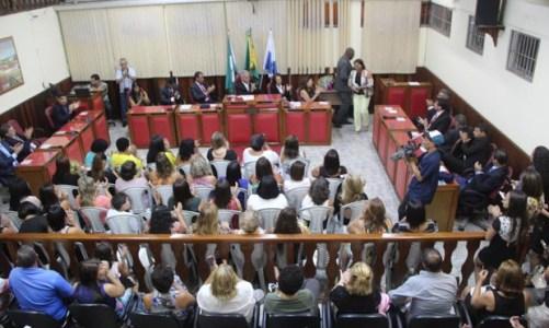 """As """"Mulheres de Ouro"""" da Câmara Municipal"""