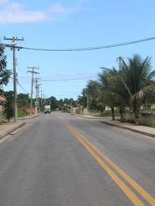 O bairro novo da Basiléa,  com asfalto e calçadas,  beneficiando as famílias. Foto: Edimilson Soares