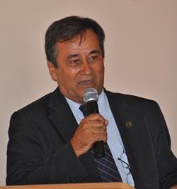 O presidente da OAB Saquarema,  Dr. Miguel Saraiva