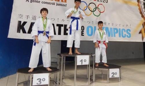 Títulos inéditos no Karate