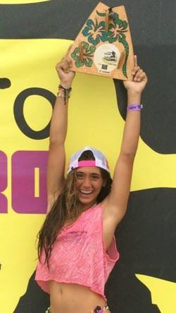 Em ótima fase, Carol é Bicampeã Carioca e Vice-campeã Brasileira (Divulgação)