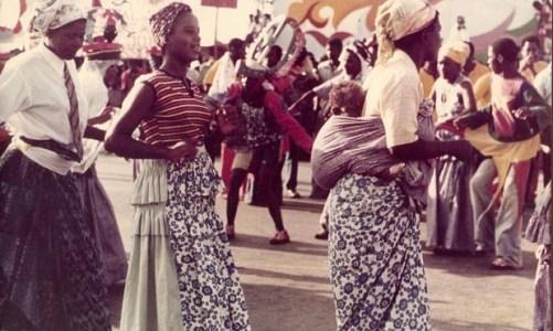 Carnaval de Angola na  Casa da Cultura