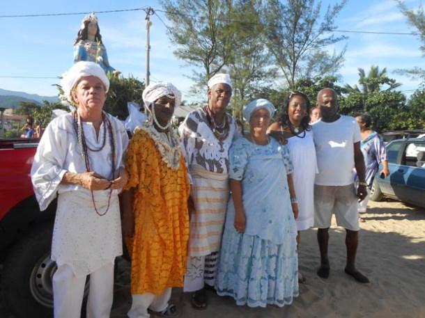 Equipe coordenadora do evento que reuniu lideranças religiosas do município e do estado (Dulce Tupy)