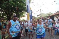 O maior bloco de Barra Nova é o Estamos a Bordo, da Rua Laudelino Coelho (Edimilson Soares)