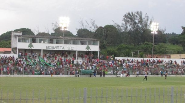 Boavista vence o Volta Redonda por 1x0, no estádio Elcy Resende Medonça, na Barreira (Paulo Lulo)