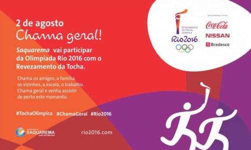 Tocha Olímpica em Saquarema