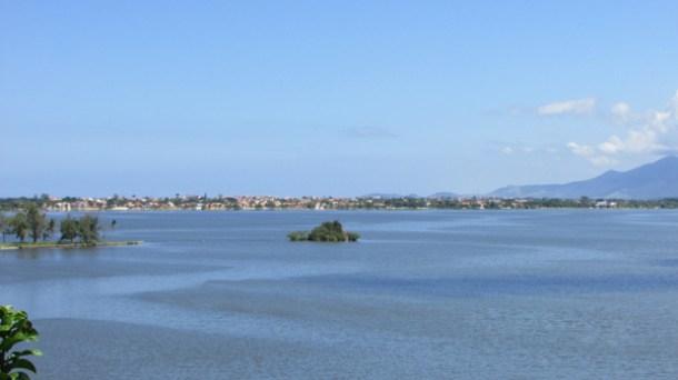 A Lagoa de Saquarema necessita de um monitoramento técnico permanente (Foto: Paulo Lulo)