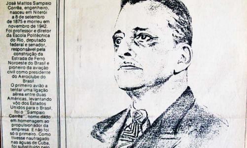 Senador Sampaio Corrêa, o engenheiro que deu nome ao terceiro distrito de Saquarema