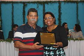 "Luiz Bigode ""Honra ao Mérito"" concedido por Adriana"