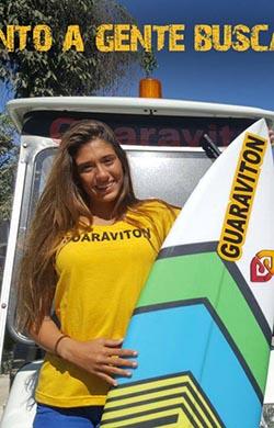 Revelação do surf em Saquarema (Foto: Divulgação)