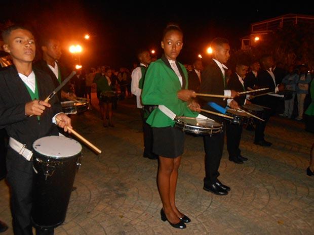 Participação feminina entre os instrumentistas na maioria meninos