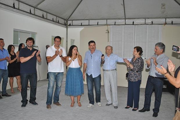 O ex-prefeito Jurandir Mello construiu a nova sede do Ibass em terreno doado pela Prefeitura Municipal (Foto: Edimilson Soares)