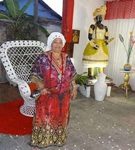 Dolores de Xangô homenageira Oxóssi no dia 20 de janeiro