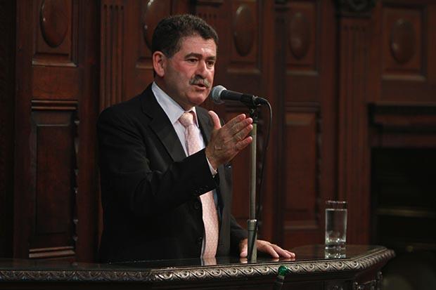 O deputado Paulo Melo, de volta à Assembleia Legislativa (Alerj) (Foto: Divulgação/Alerj)