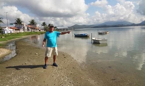 Pescadores agora são proibidos de atracar na margem da lagoa