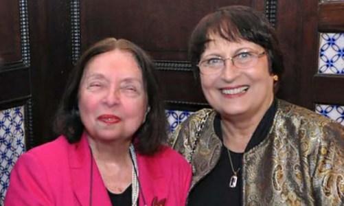 Beatriz Dutra e Nélida Piñon