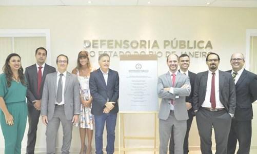 Reformada a sede da Defensoria Pública