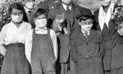 Uma gripe que mudou o mundo