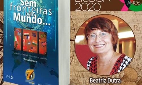 Beatriz Dutra é Menção Honrosa na 90ª Feira do Livro de Lisboa