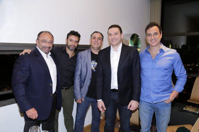 Silvio Teixeira, Aldo De Cresci, Joao Carlos Oliveira, Paulo Gustavo Maiurino, Silvio Garcia 0512 - ModaNews