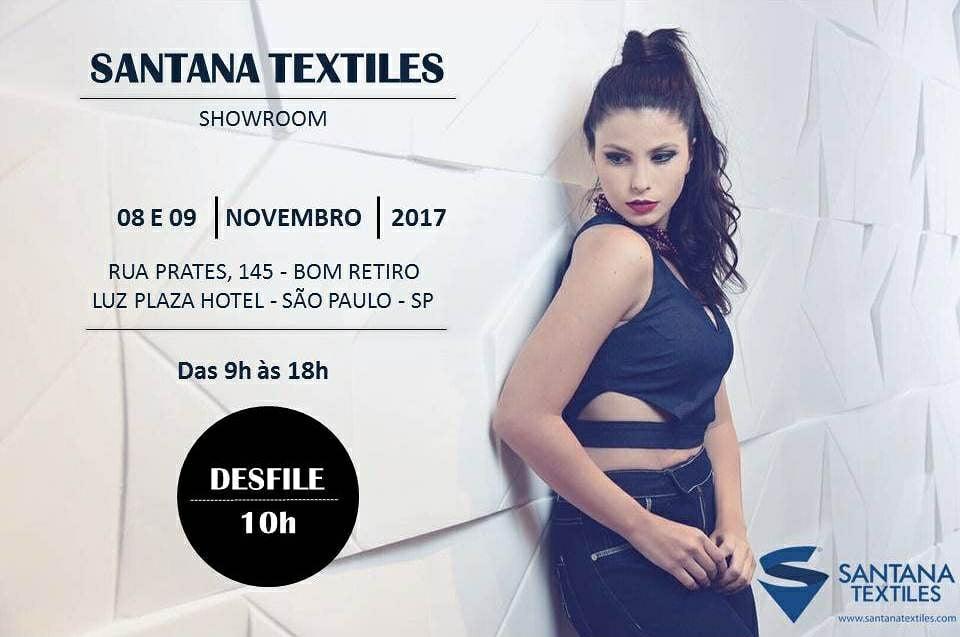 evento santana textiles showroom verão 2018 2019 - Osasco Fashion