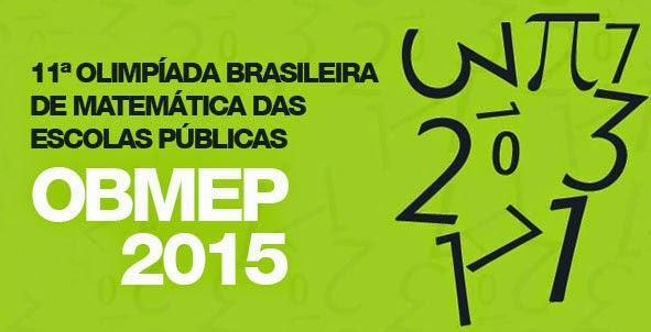 OBMEP 2015 (Reprodução)