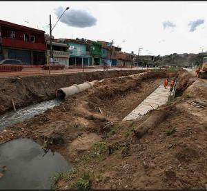 Córrego do Baronesa recebe canalizacao