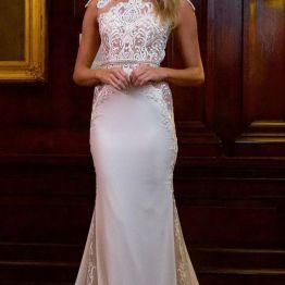 Vestido de noiva civil longo