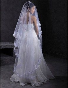 Véu de noiva longo