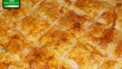 Рецепта за къпана баница със сирене