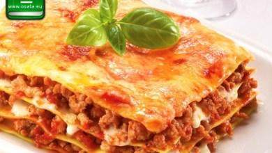 Рецепта как да приготвим Лазаня с телешко, свинско и моцарела