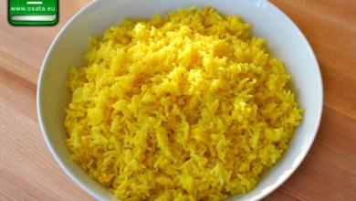 Рецепта за ориз с куркума