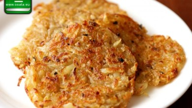 Рецепта как да приготвим картофени рьощи на фурна
